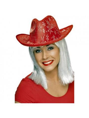Рождественская ковбойская шляпа