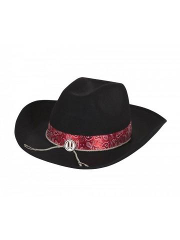 Шляпа Ковбоя с красной тесьмой 1 фото