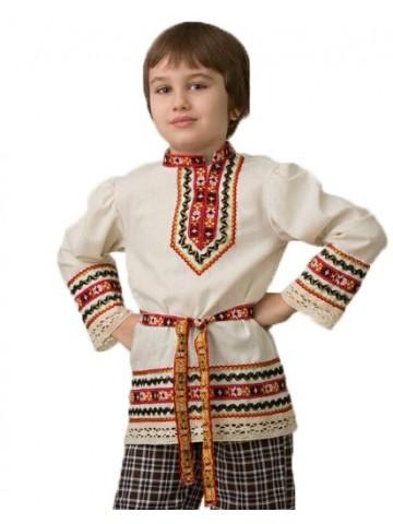 Славянский костюм Рубашка вышиванка фото