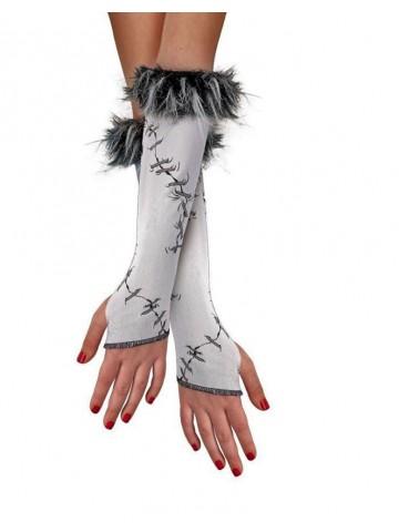 Сшитые детские перчатки