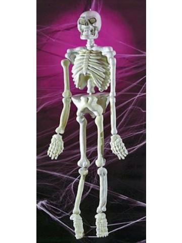 Светящийся в темноте скелет 150 см