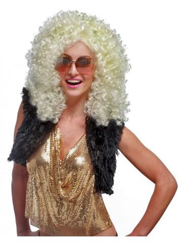 Светлый парик королевы диско