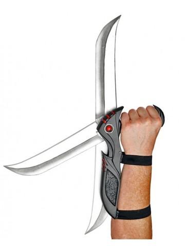 Выкидной нож с ручкой