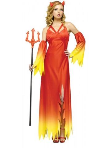 Яркий костюм восторженной дьяволицы