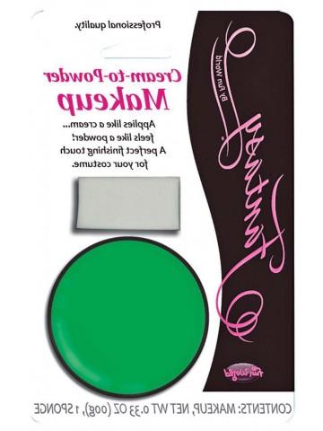 Зеленый крем-пудра
