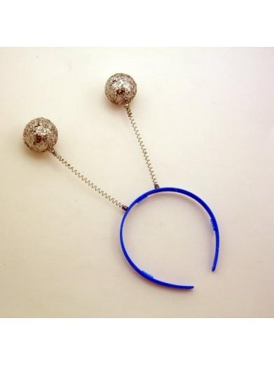 Антенки серебристые шары