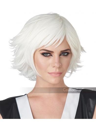 Белый парик для косплея