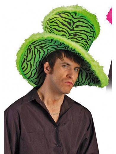 Большая зелёная шляпа