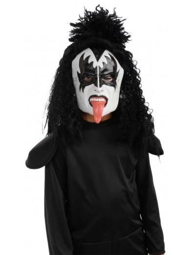 Детская маска Джина Симмонса Kiss фото