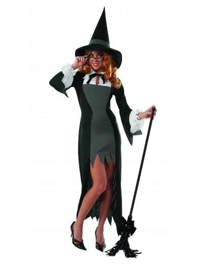 Элегантный костюм ведьмочки фото