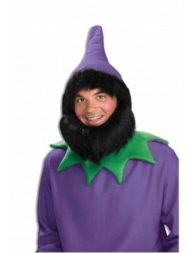 Фиолетовый колпачок и борода гнома