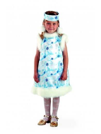Карнавальный костюм снежинки фото