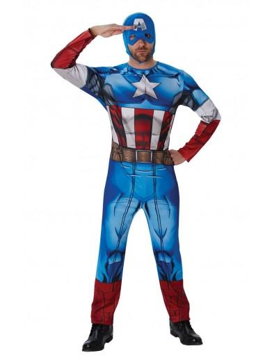 Классический костюм Капитана Америка фото