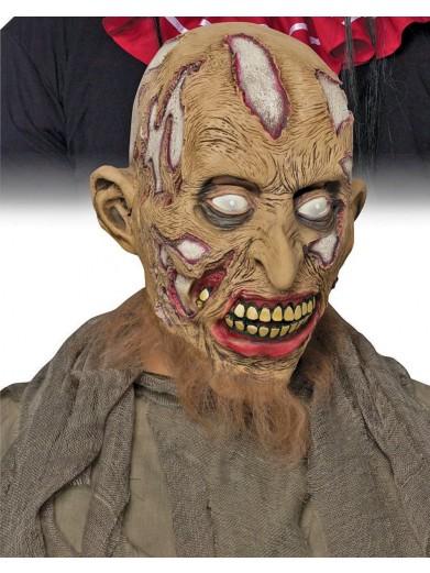Коричневая маска зомби