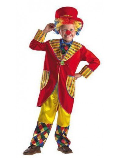 Костюм клоуна франта красный