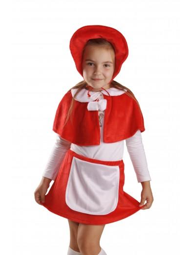 Костюм Красная шапочка плюш
