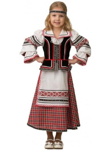 Костюм национальный Старорусский девочке фото