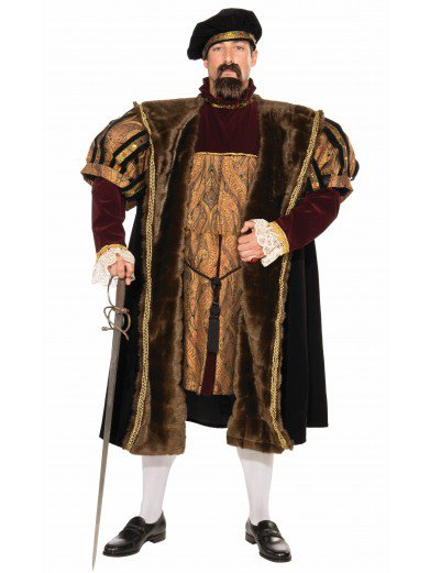 Костюм Король Генри VIII взрослый
