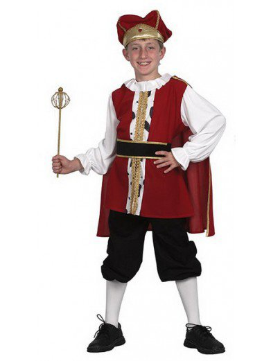 Костюм Средневековый король для мальчиков