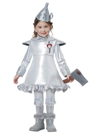 Костюм Железного дровосека для девочки