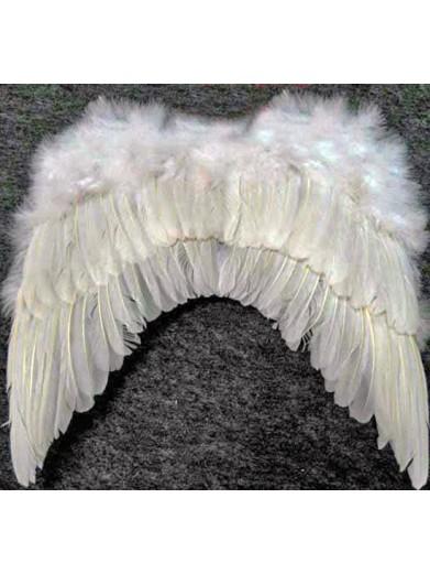 Крылья белые 46 см
