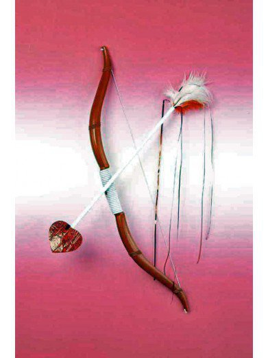 Лук и стрелы купидона