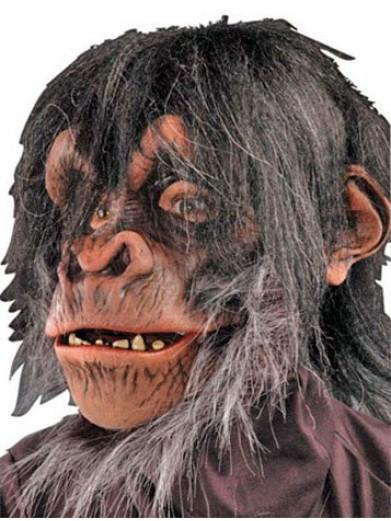 Маска лохматого шимпанзе
