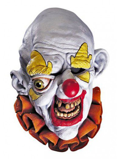 Маска одноглазого клоуна