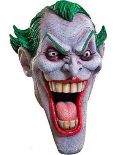 Маска злого Джокера