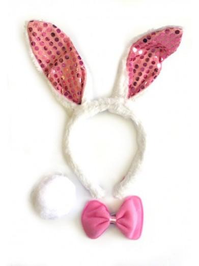 Набор кролика белый