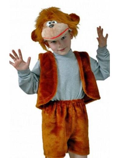 Костюм обезьянки для мальчика плюшевый