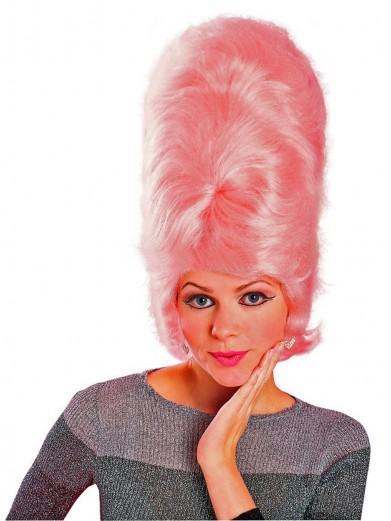 Парик Мардж Симпсон розовый
