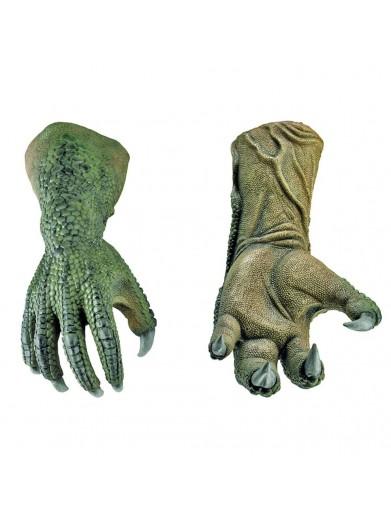 Перчатки огромной ящерицы