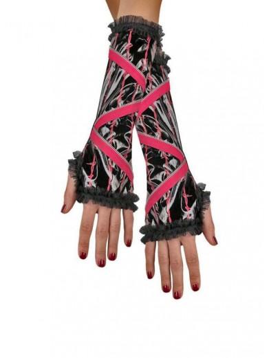 Перчатки с молнией