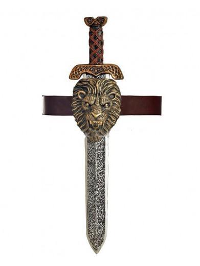 Римский меч с гравировкой
