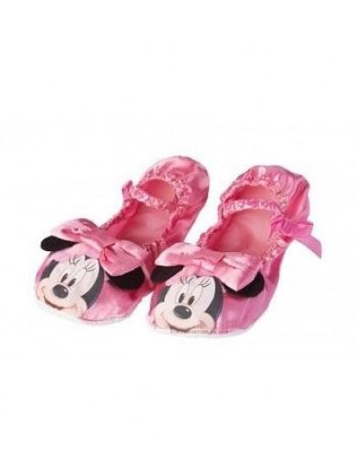Розовые тапочки Мини Маус