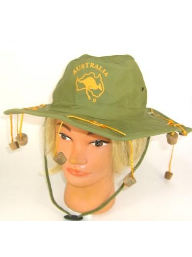 Шляпа Австралийская с пробками