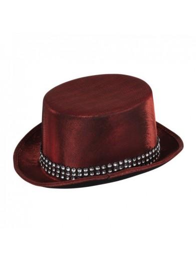 Шляпа Металлик с поясом 1 фото