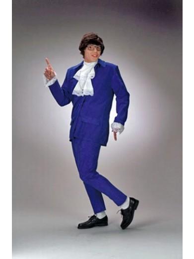 Синий костюм Остина Пауэрса