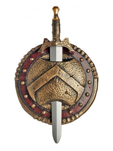 Спартанский боевой щит и меч