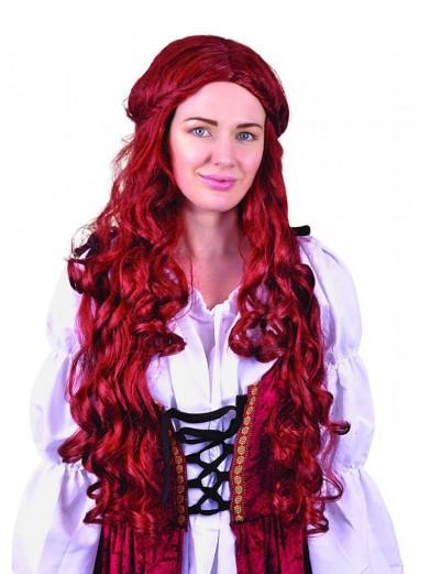 Средневековый кашатновый парик