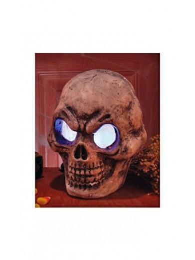 Светящийся злобный череп