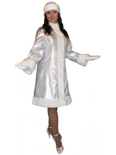 Яркий новогодний костюм Снегурочки